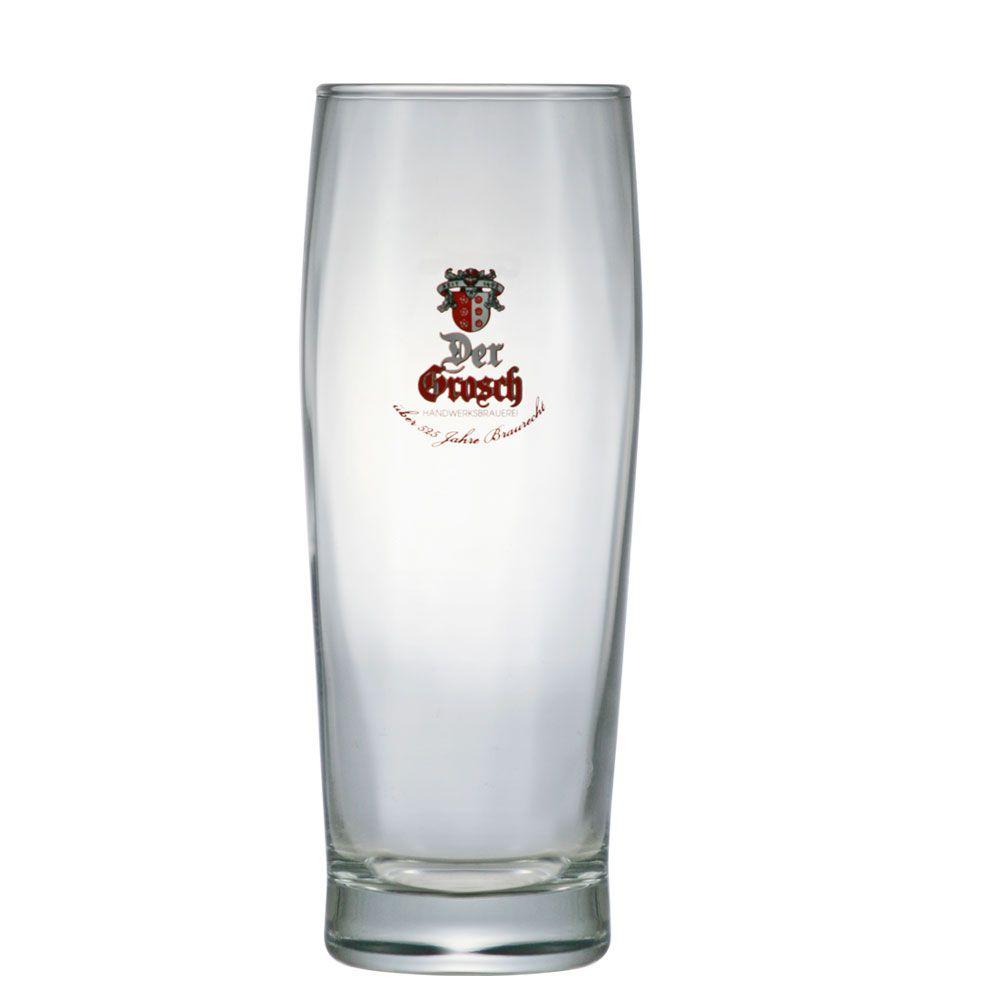 Jogo de Copos de Cerveja Vidro Der Grosh 450ml 4 Pcs