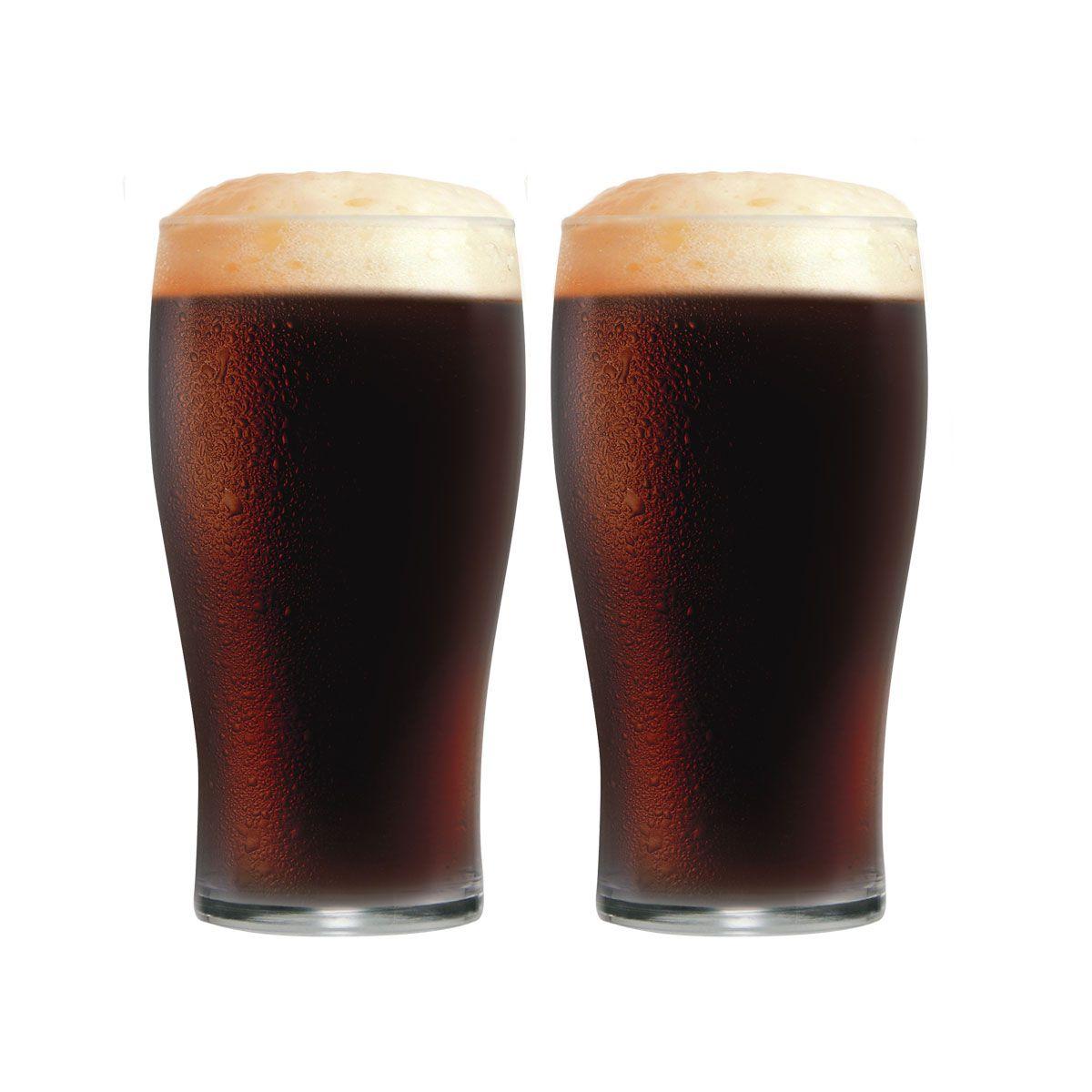 Jogo de Copos de Cerveja Vidro Pint IPA 568ml 2 Pcs