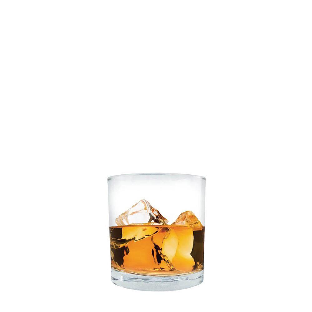 Jogo de Copos Whisky Prestige On The Rocks Vidro 340ml 2 Pcs