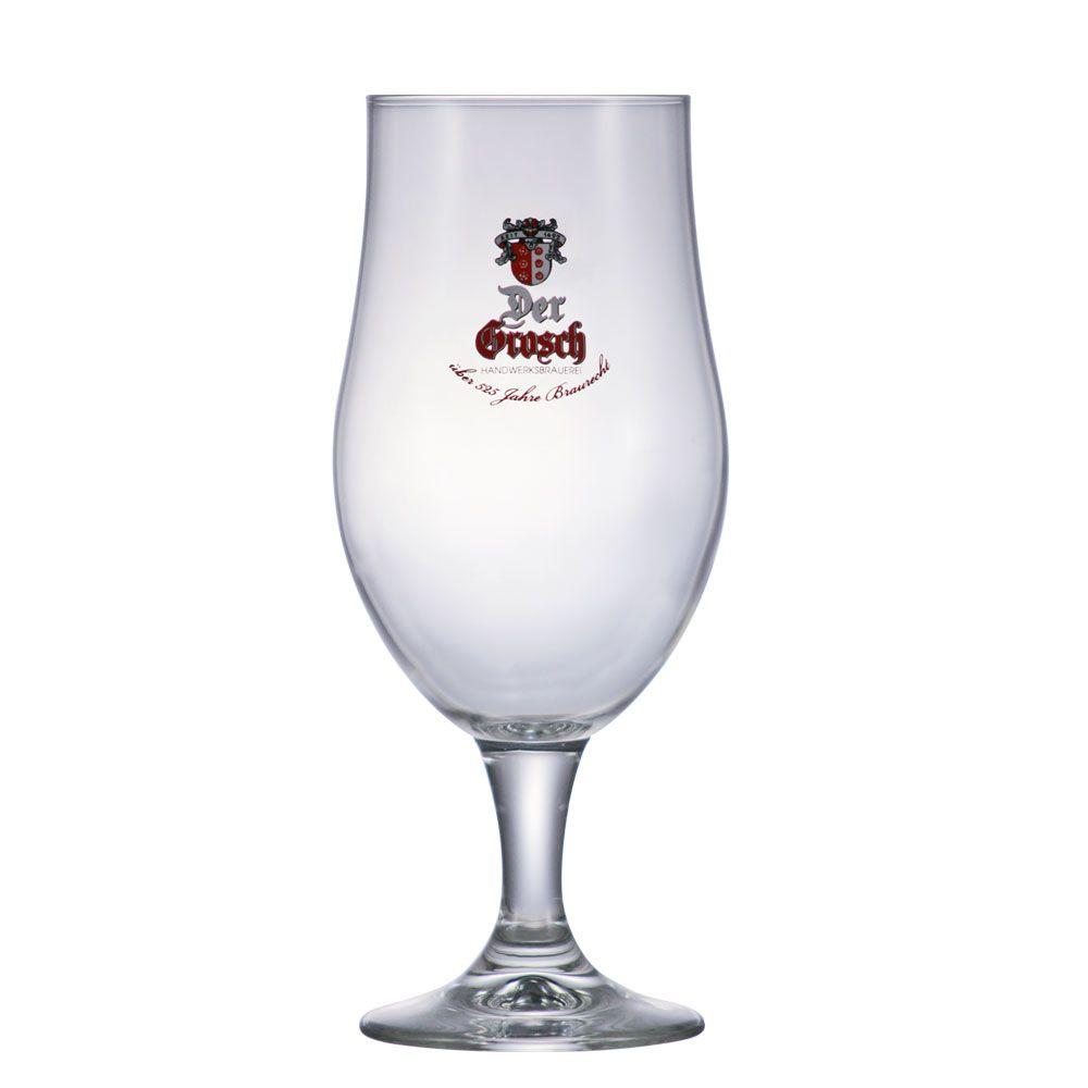 Jogo de Taça de Cerveja Vidro Der Grosh 490ml 12 Pcs