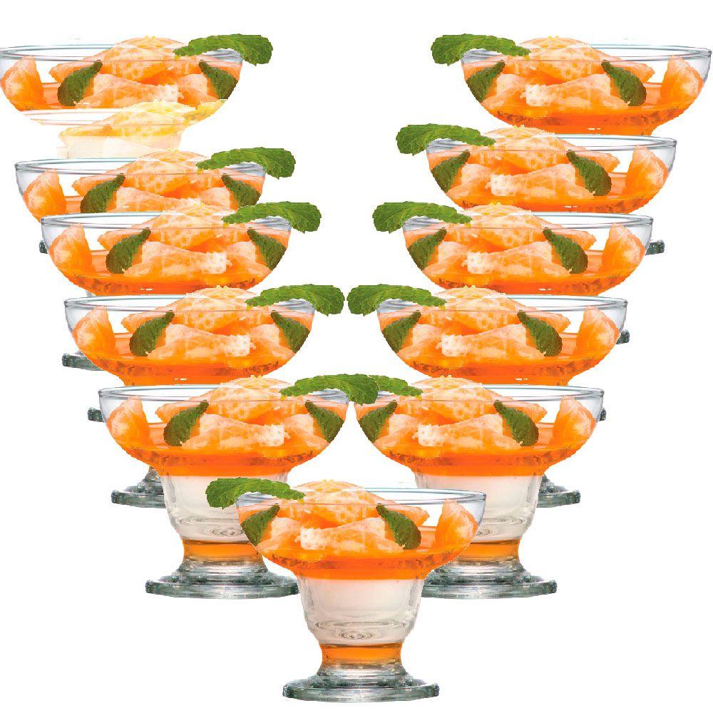 Jogo de Taça de Sobremesa Cancun 300ml 12 Pcs