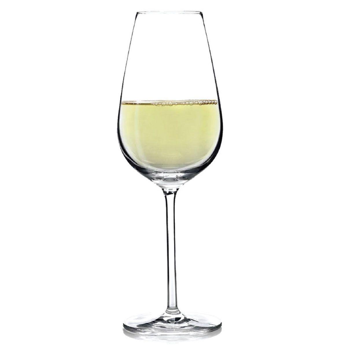 Jogo de Taça de Vinho Branco Aspergo Cristal 370ml 2 Pcs