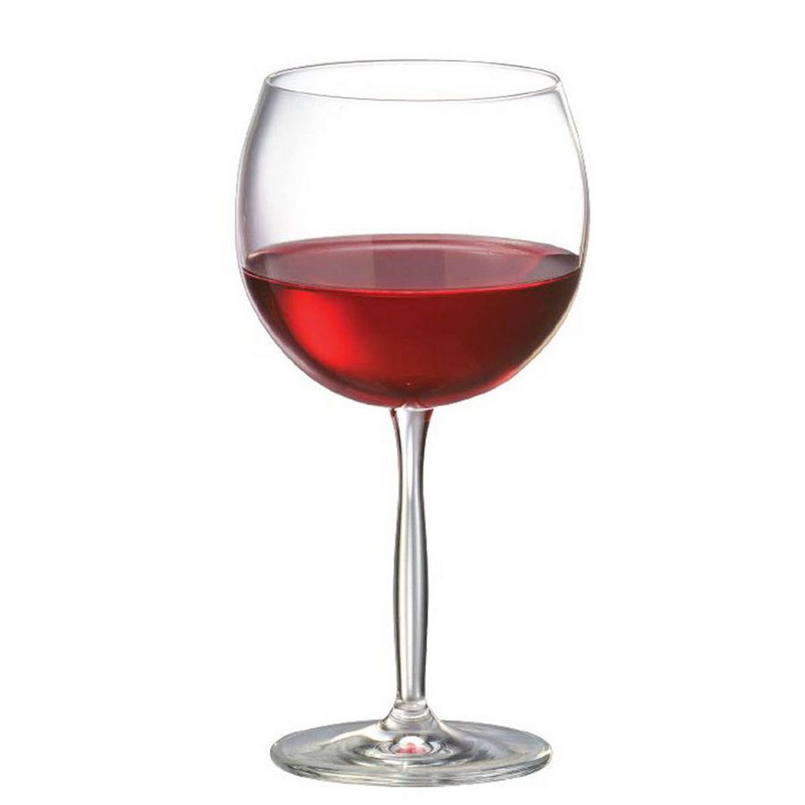Jogo de Taça de Vinho Tinto Bordeaux Gran Cristal 550ml 2 Pcs