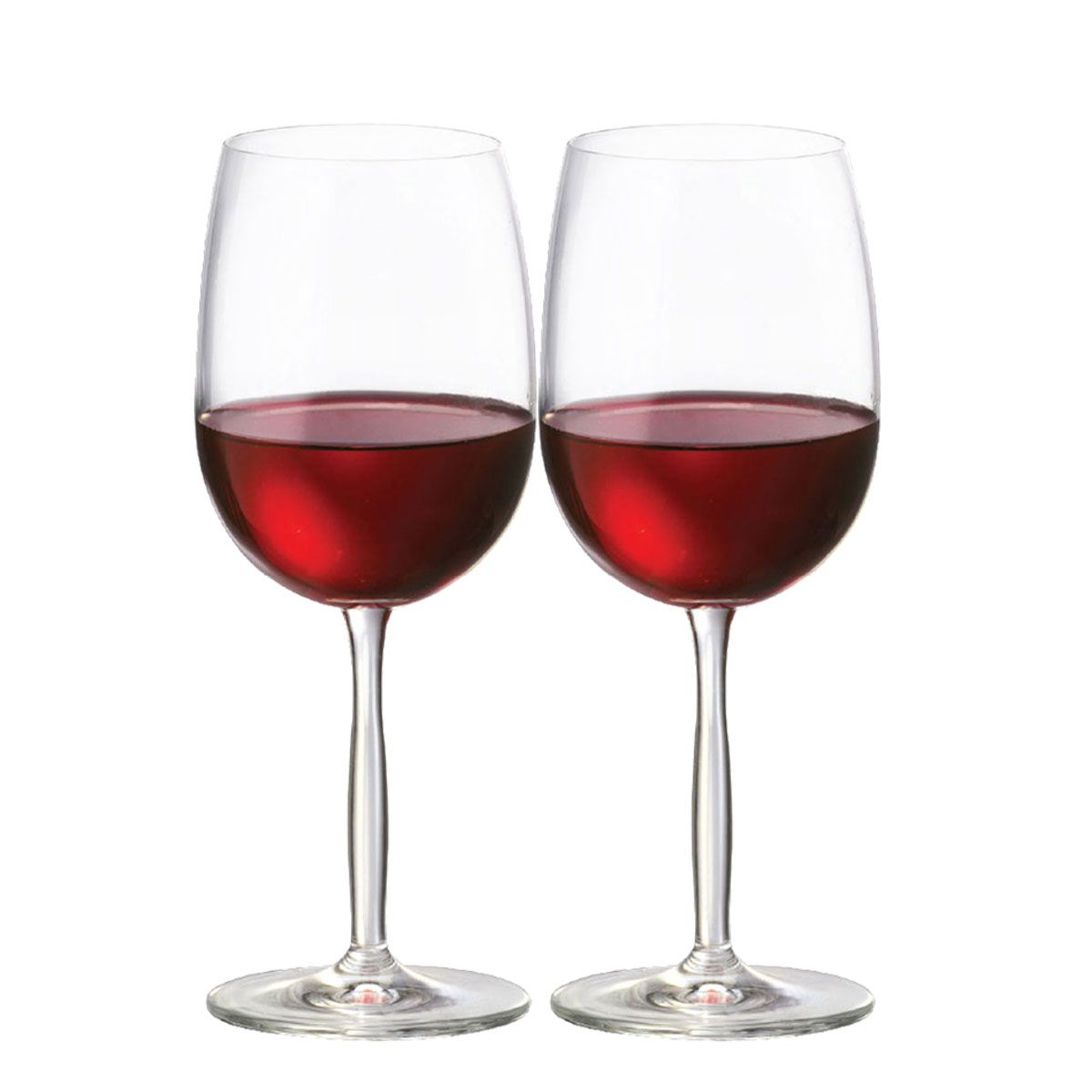 Jogo de Taça de Vinho Tinto Cristal Ritz 48ml 2 Pcs