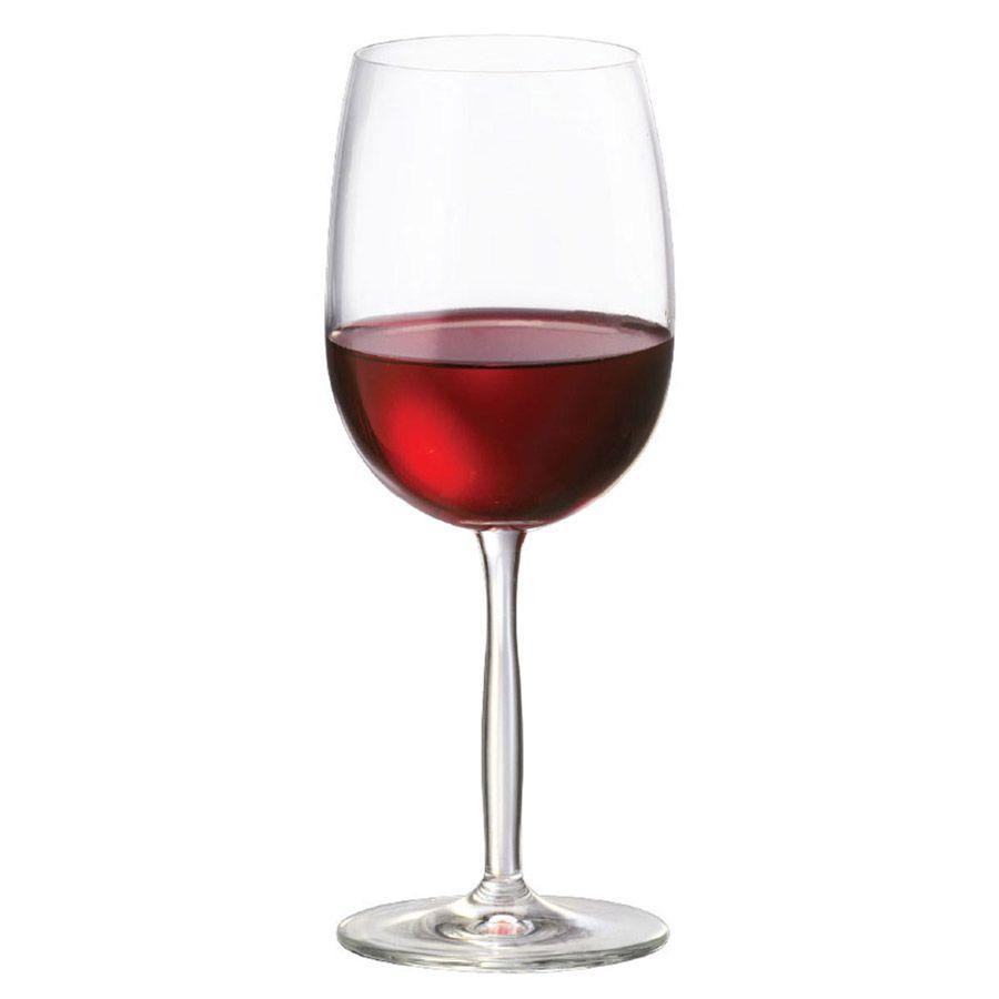Jogo de Taça de Vinho Tinto Cristal Ritz 48ml 6 Pcs