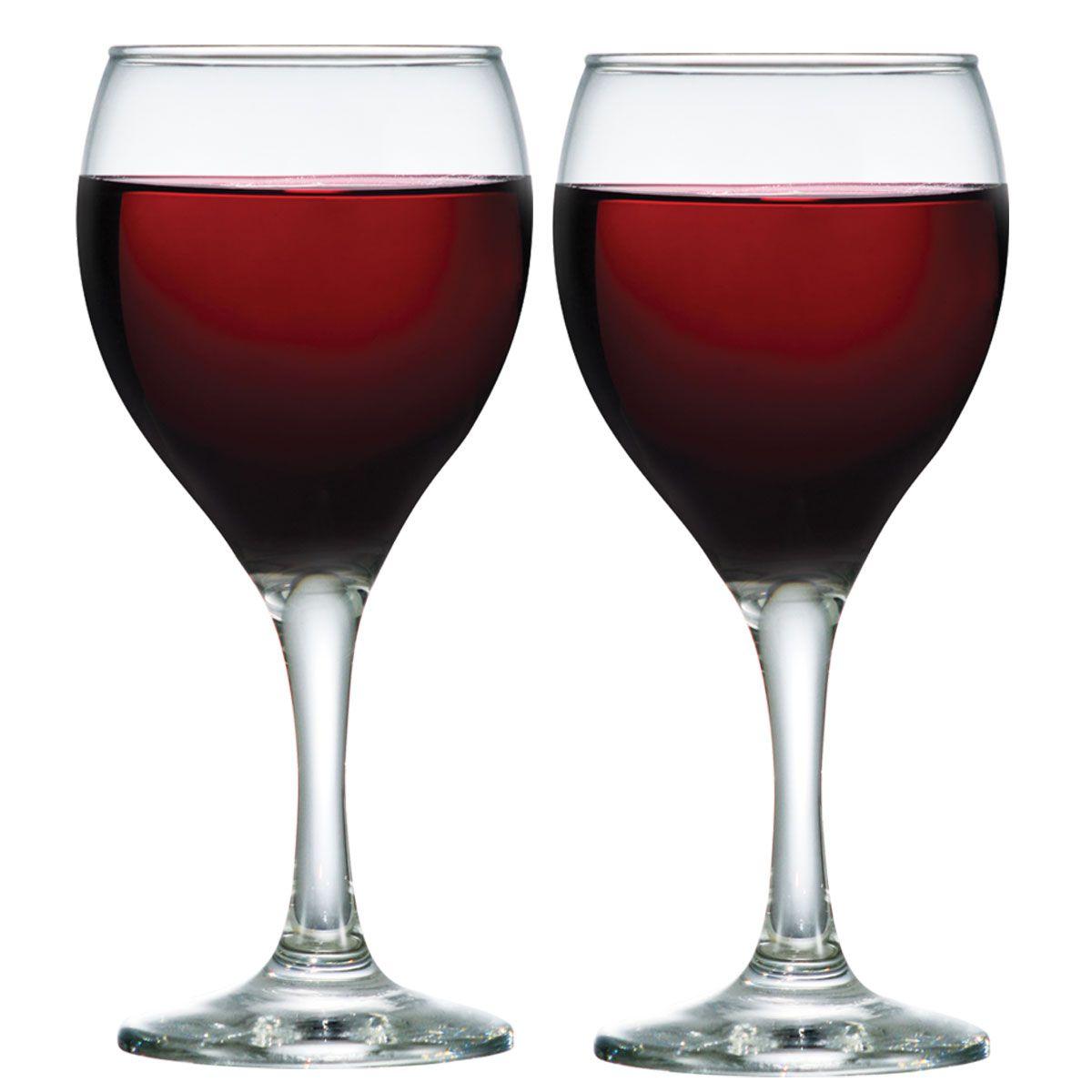 Jogo de Taça de Vinho Vidro Aspen 335ml 2 Pcs