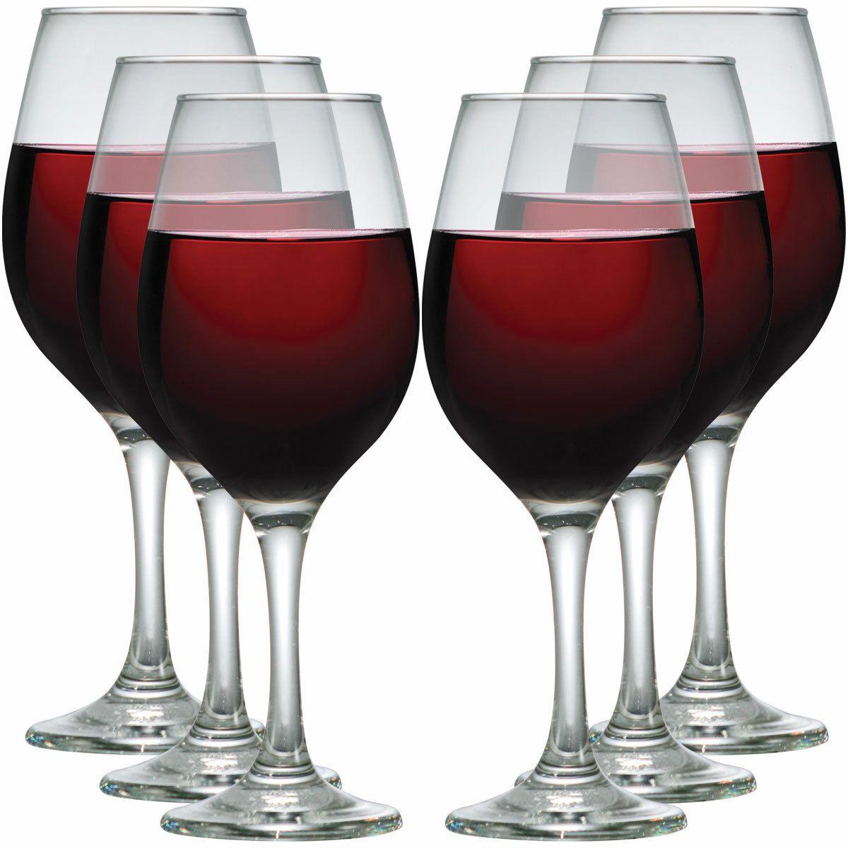 Jogo de Taças de Água e Vinho One Vidro 385ml 6 Pcs
