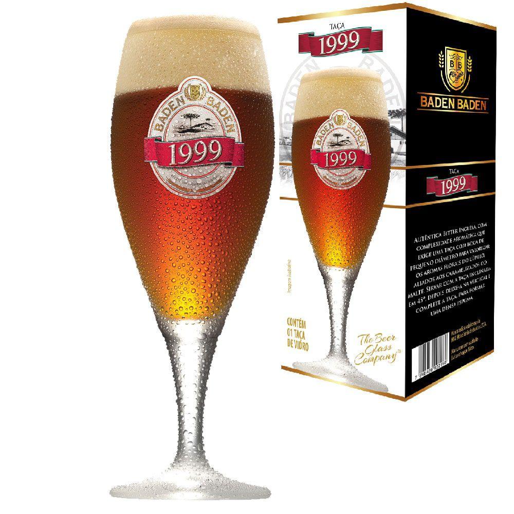 Jogo de Taças de Cerveja Baden Baden 1999 4 Pcs