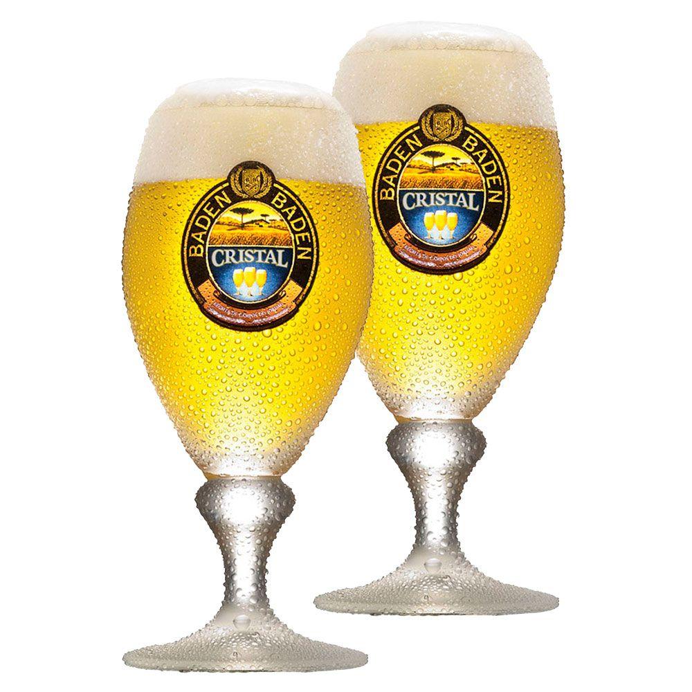 Jogo de Taças de Cerveja Baden Baden Cristal 400ml 2 Pcs