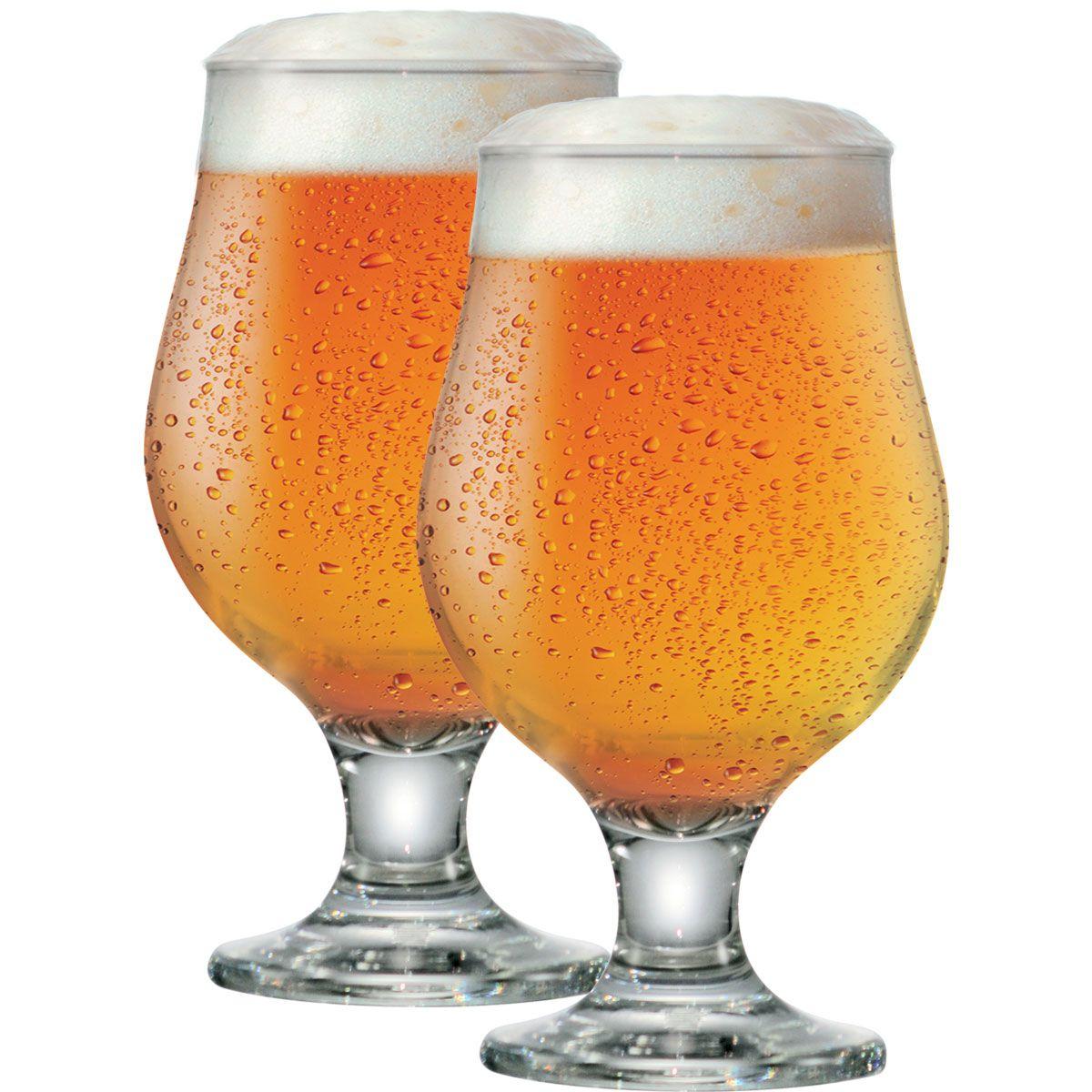 Jogo de Taças de Cerveja Beer Master 380ml 2 Pecas