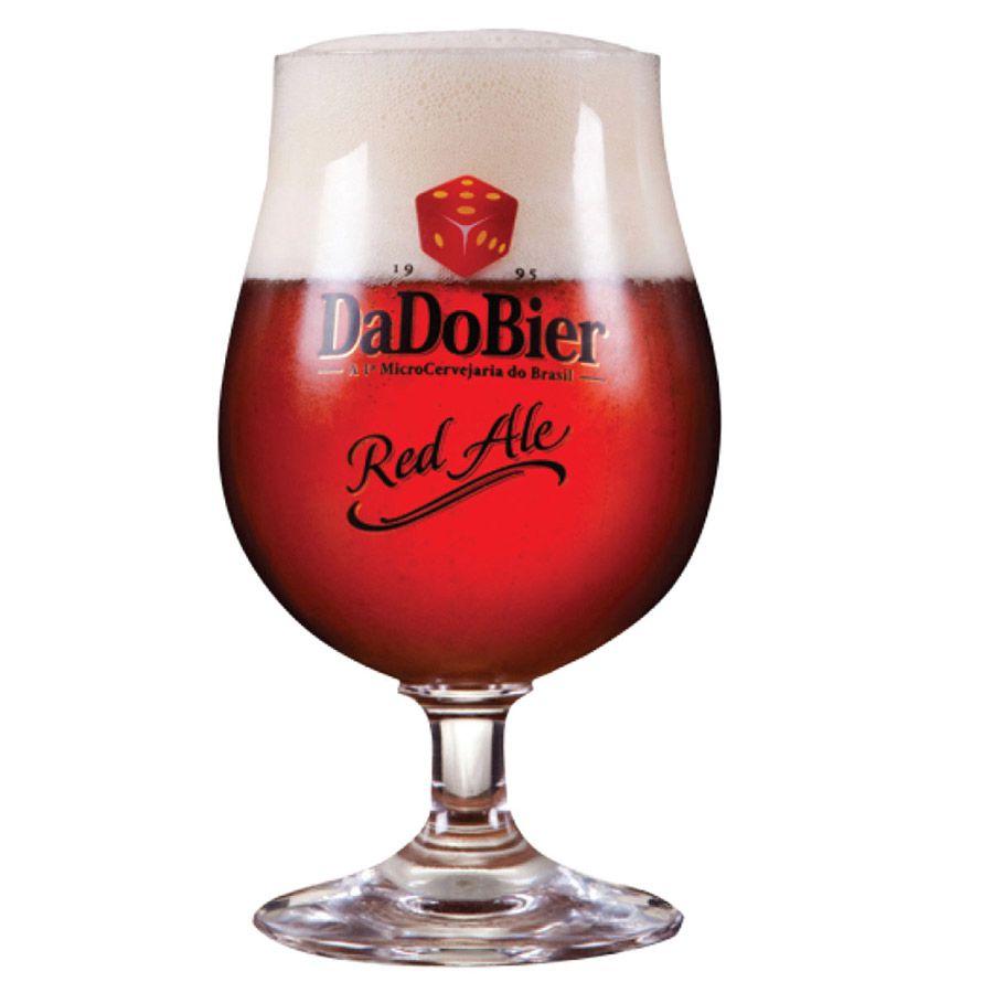 Jogo de Taças de Cerveja Cristal Dado Bier Red Ale 400ml 12 Pcs