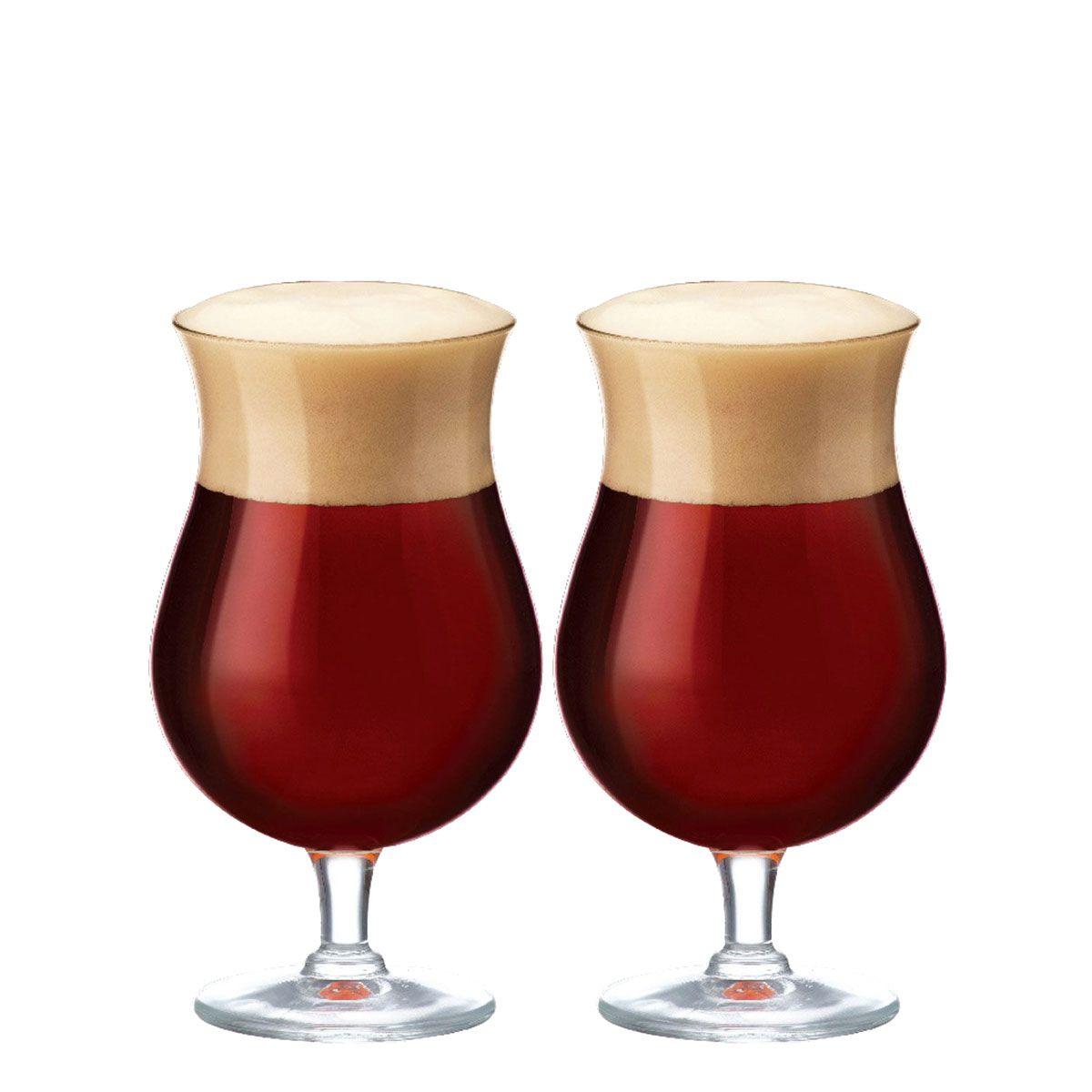 Jogo de Taças de Cerveja Cristal Double Bock 645ml  2 Pcs