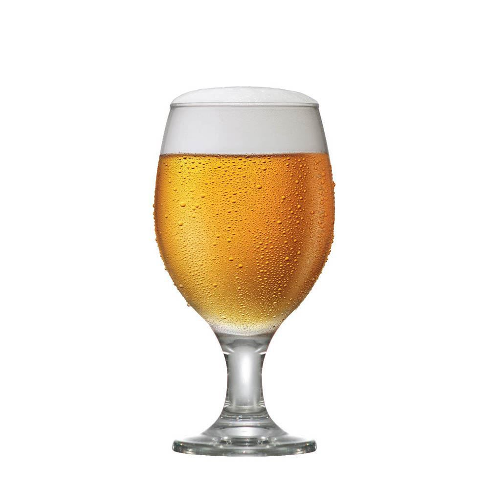 Jogo de Taças de Cerveja Roma P Vidro 310ml 6 Pcs