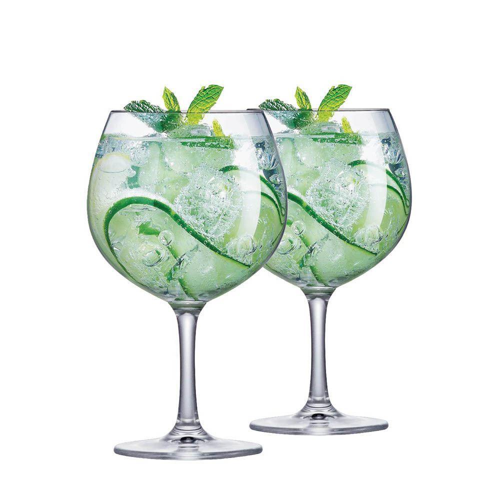 Jogo de Taças de Gin Club Cristal 660ml 2 Pcs