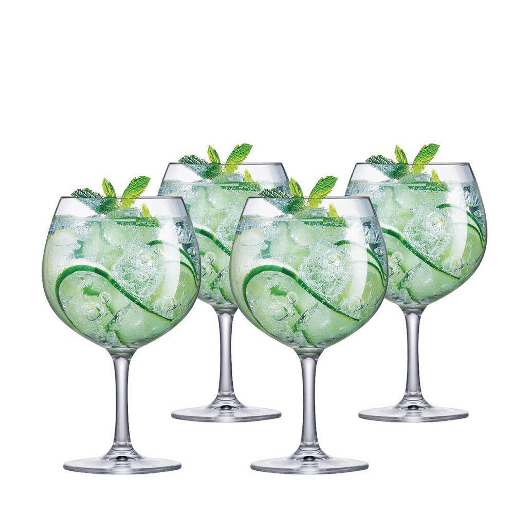 Jogo de Taças de Gin Club Cristal 660ml 4 Pcs
