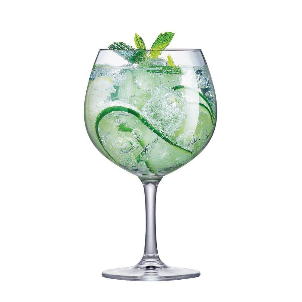 Jogo de Taças de Gin Club Cristal 660ml 6 Pcs