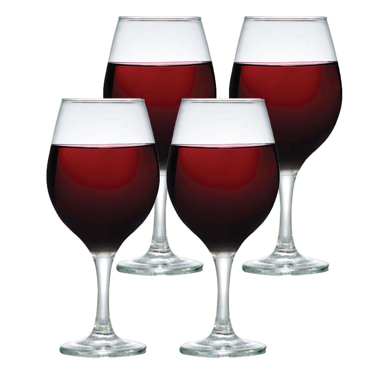 Jogo de Taças de Vinho Bordeaux One 600ml 4 Pcs