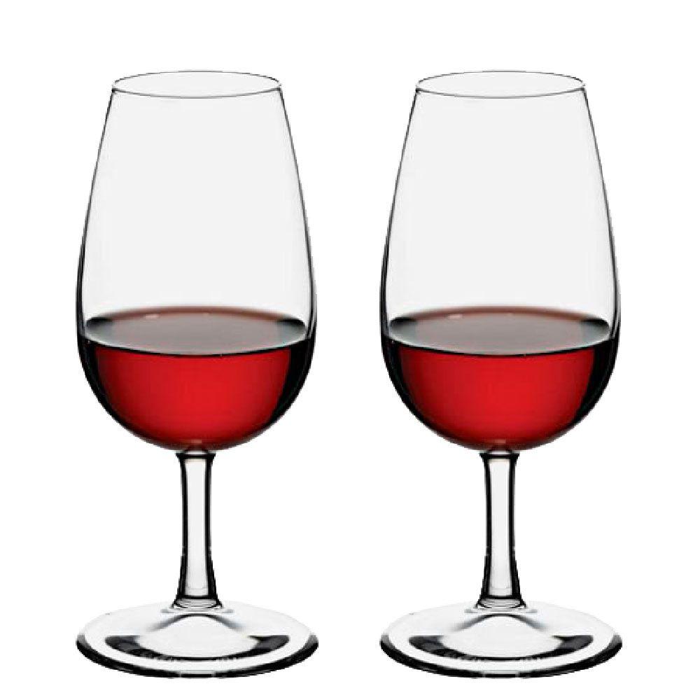 Jogo de Taças de Vinho Iso Degustação Bourbon 230ml 2 Pcs