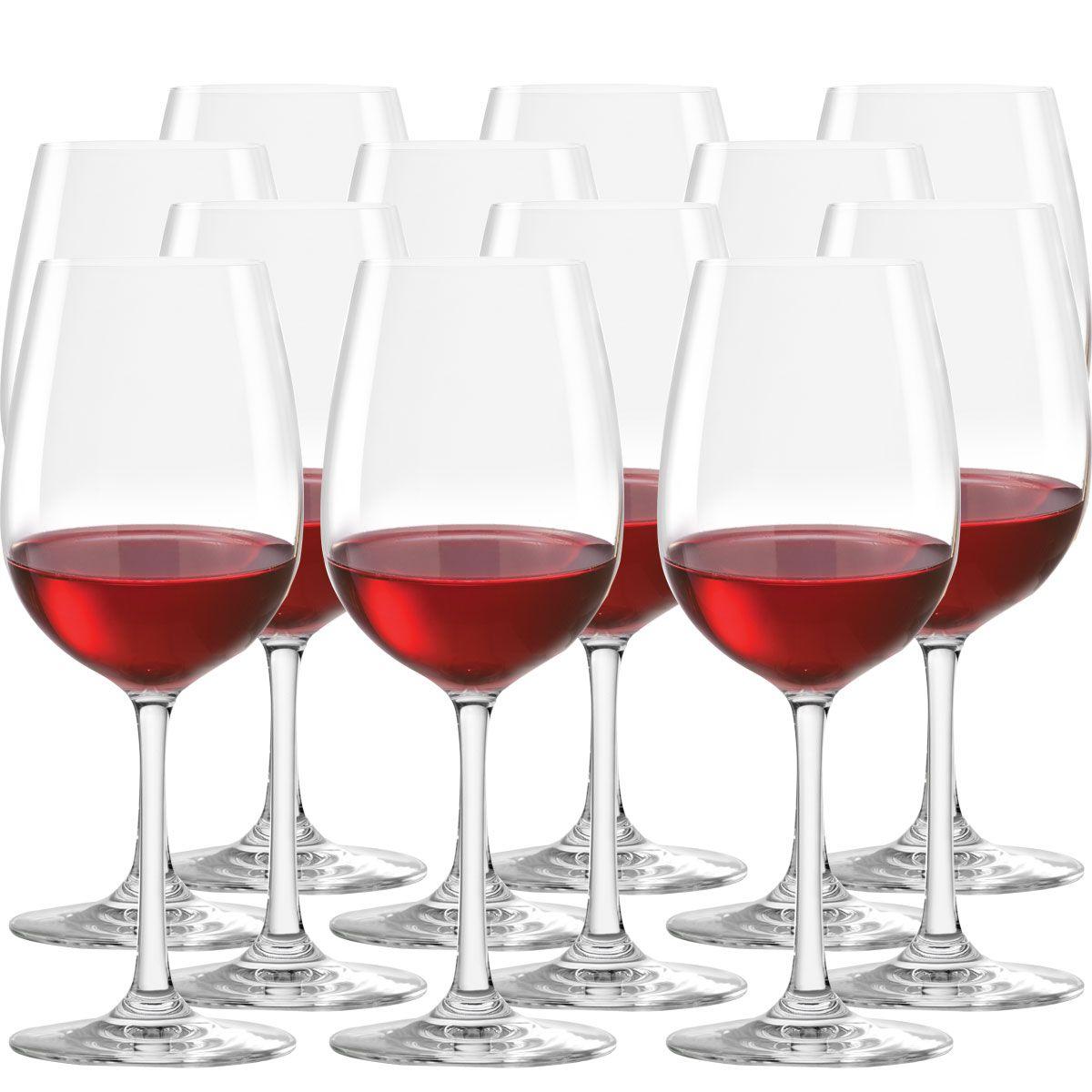 Jogo de taças de Vinho Tinto Cristal Sensaton Red Wine de 500ml 12 Pcs