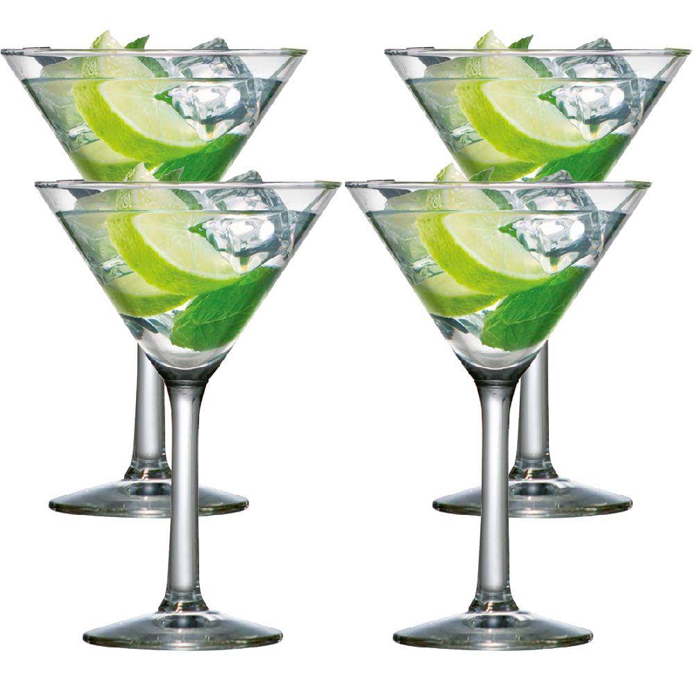 Jogo de Taças Martini 265ml 4 Peças