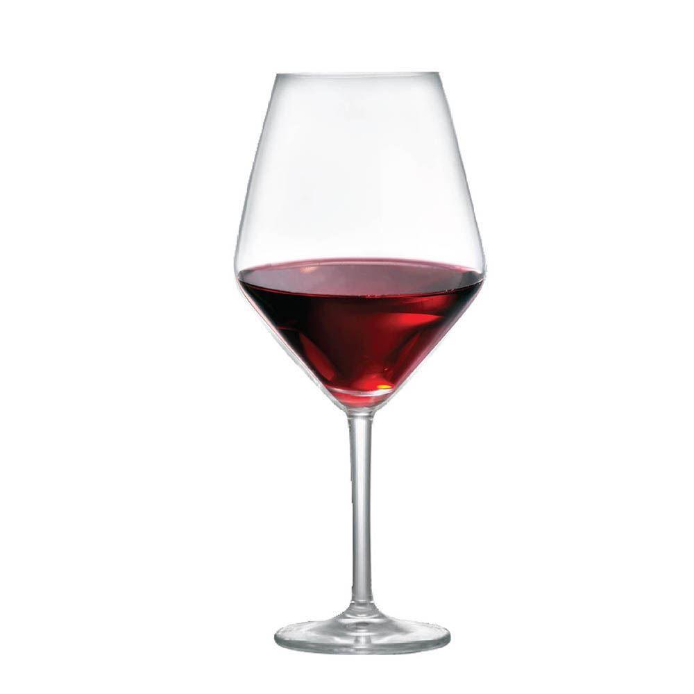 Jogo de Taças para Vinho Tinto Elegance Cristal 775ml 2 Pcs