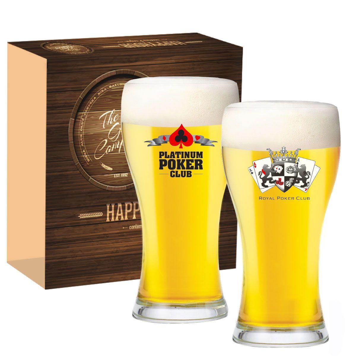 Kit Copos Cerveja Diversos Chopp Importado Vidro Athenas