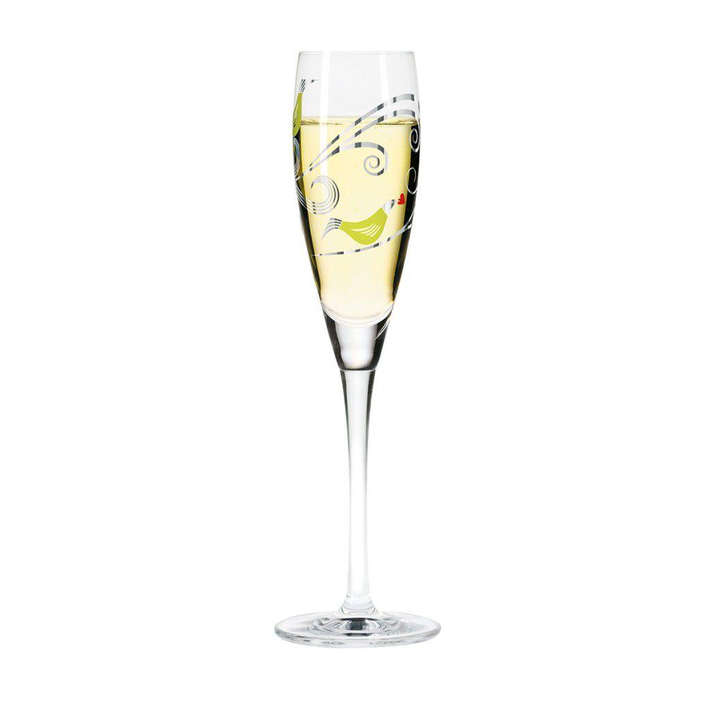 Taça para Prosecco Cristal Ritzenhoff Glass Christiane Beauregard 2012160ml