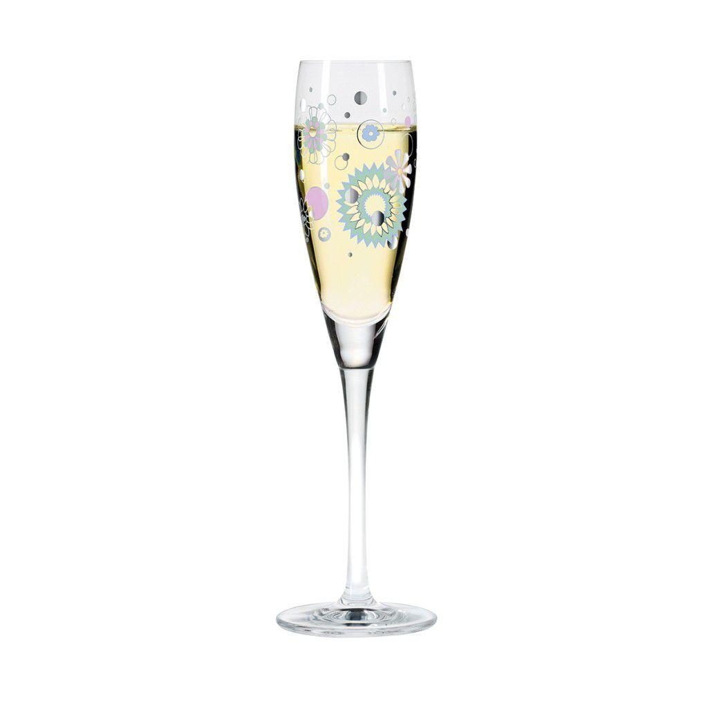 Taça para Prosecco Cristal Ritzenhoff Glass  Gabriel Weirich 2004 160ml