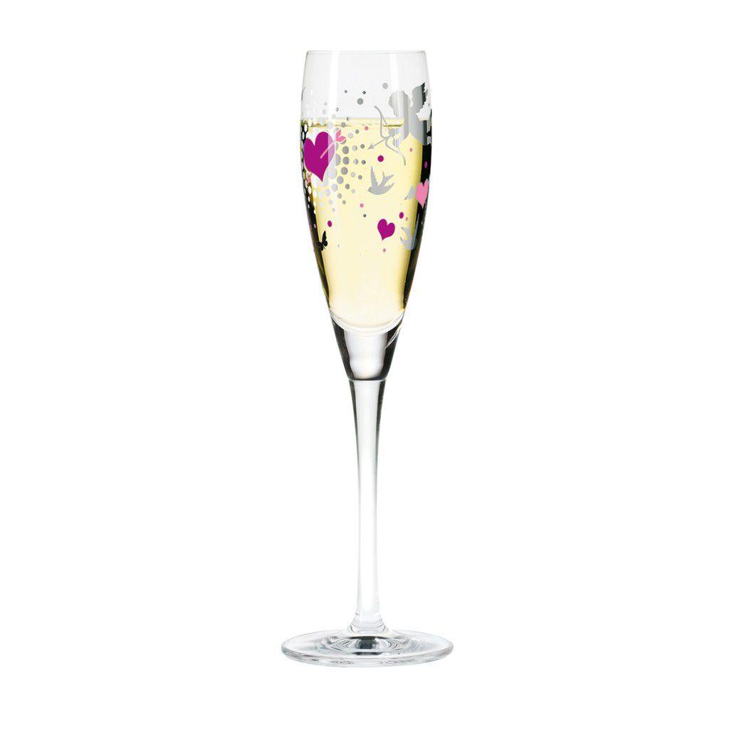 Taça para Prosecco Cristal Ritzenhoff Glass Kathrin  Stockebrand 2010 160ml