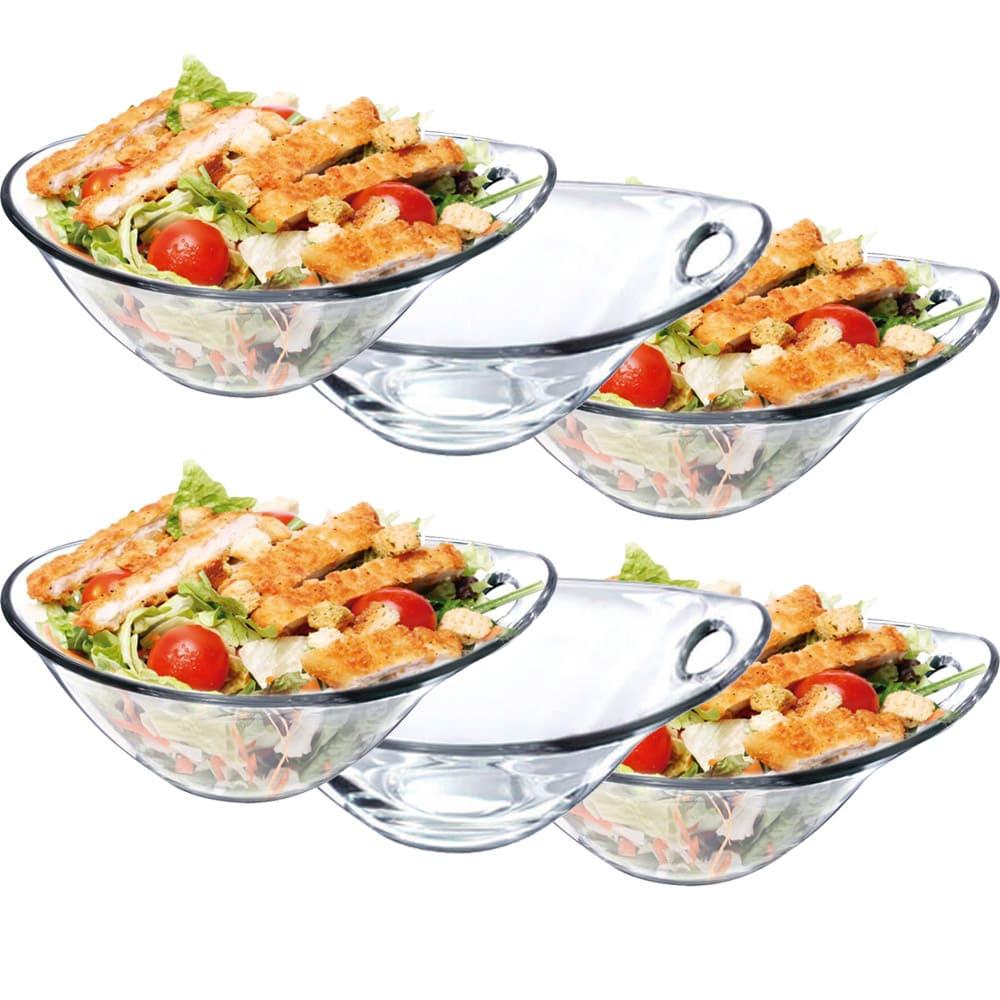 Saladeira de Vidro Parma P 6 pcs