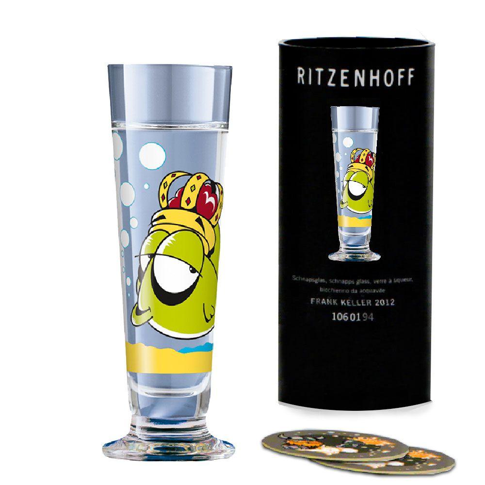 Taça de Schnapps Cristal Ritzenhoff Glass Nick Diggory 2010 40ml