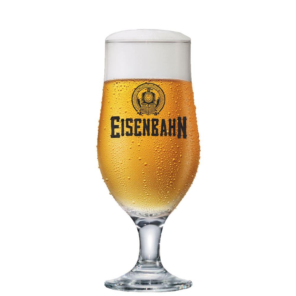Taça Cerveja Chopp Oficial Vidro Eisenbahn 330ml