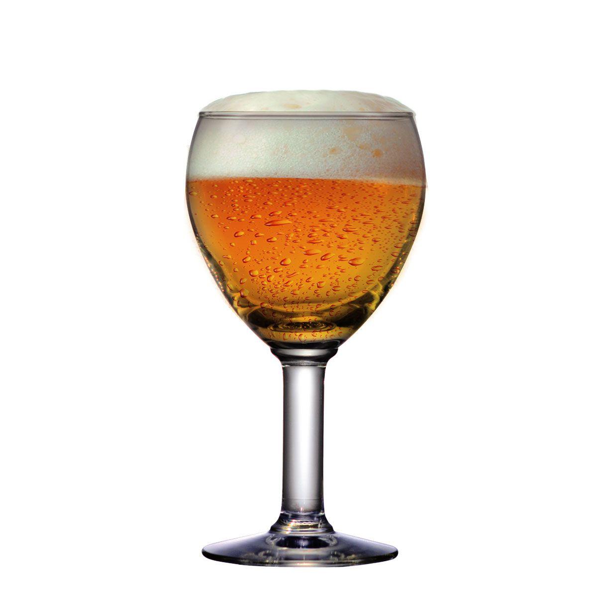 Taça Cerveja Copo Jogo Conjunto Abadia Vidro 550ml Kit 12 Pc