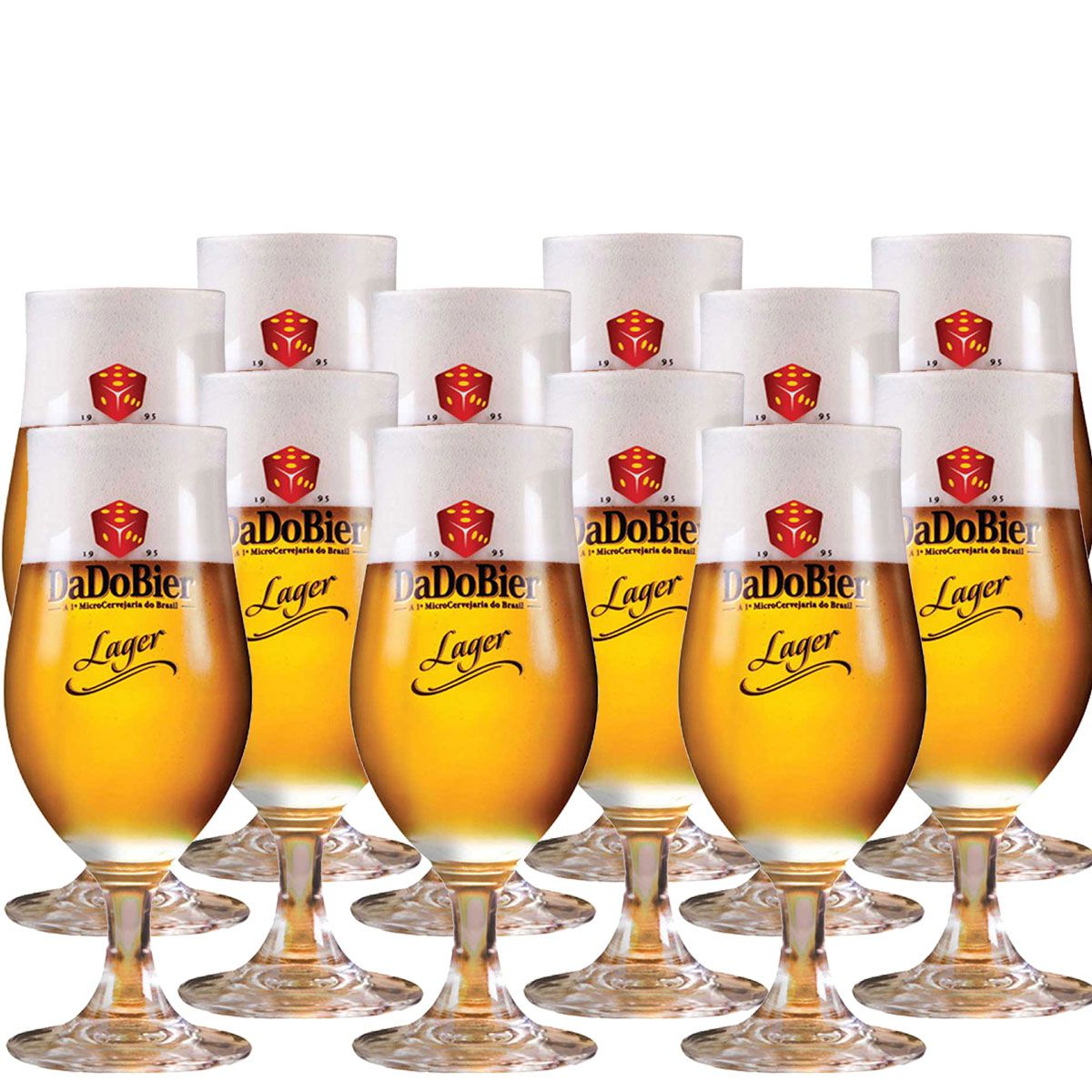 Taça Cerveja - Dado Bier 370ml C/ 12 Unid
