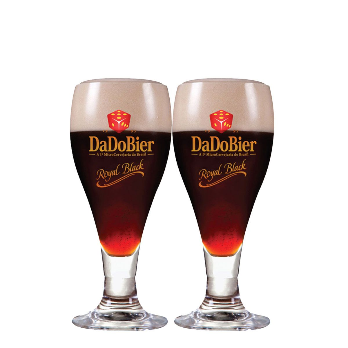Taça Cerveja - Dado Bier 415ml C/ 2 Unid