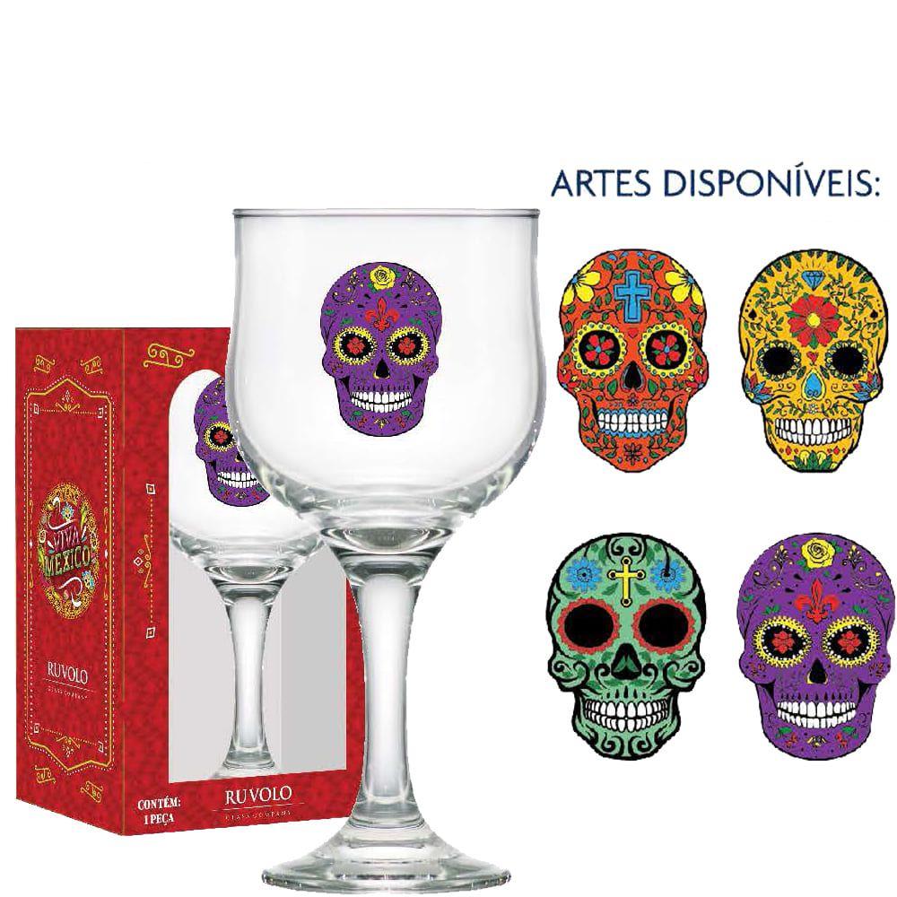 Taça Cerveja de Vidro Mexican Style Barcelona 300ml