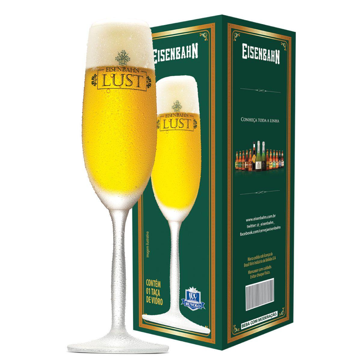 Taça Cerveja - Eisenbahn Lust 195ml