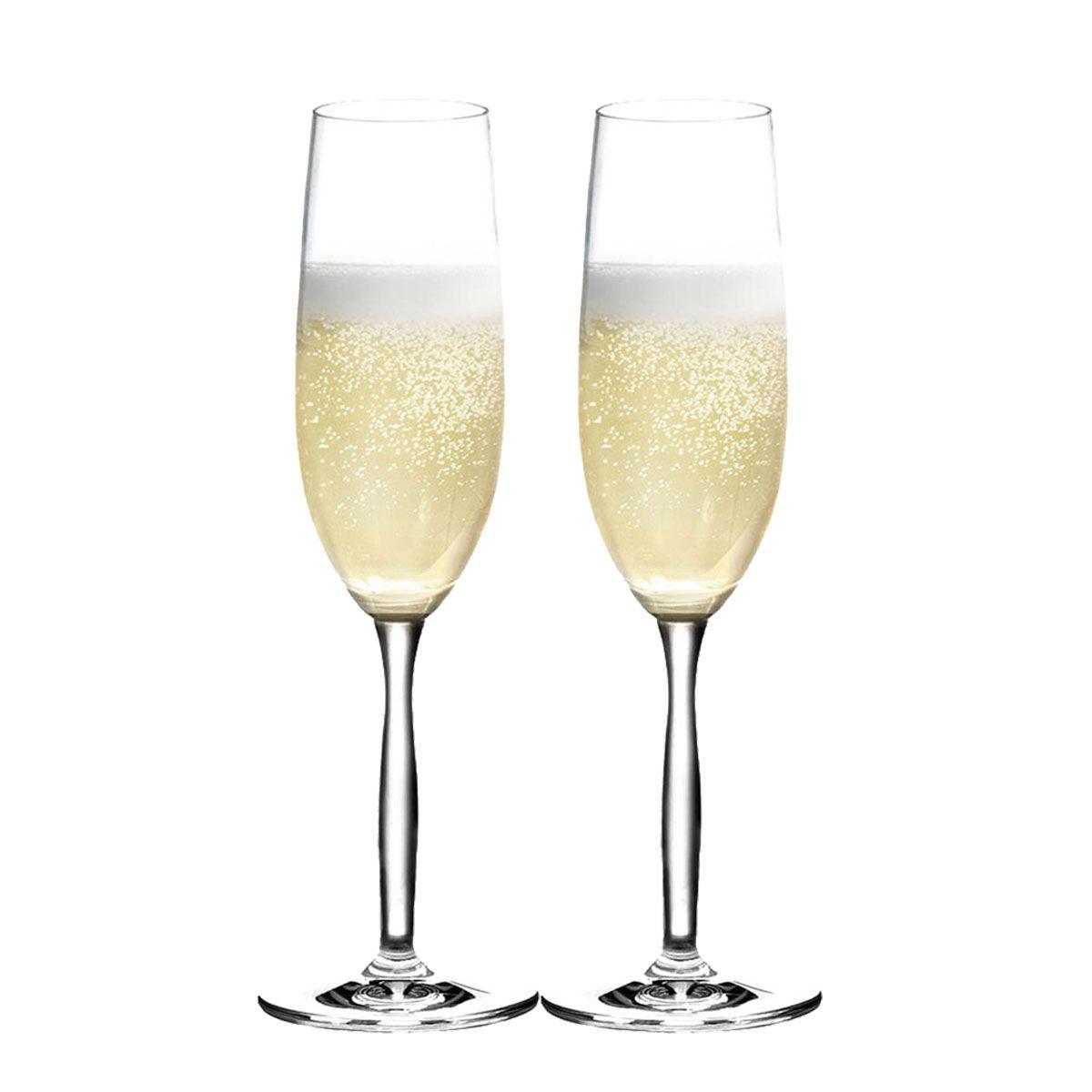 Taça Champagne - Jogo Taça Champanhe Ritz 195ml Kit 2 Pcs