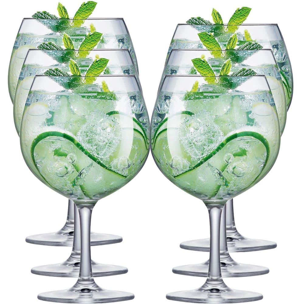 Taça Cristal Gin Club 660ml 6 pcs
