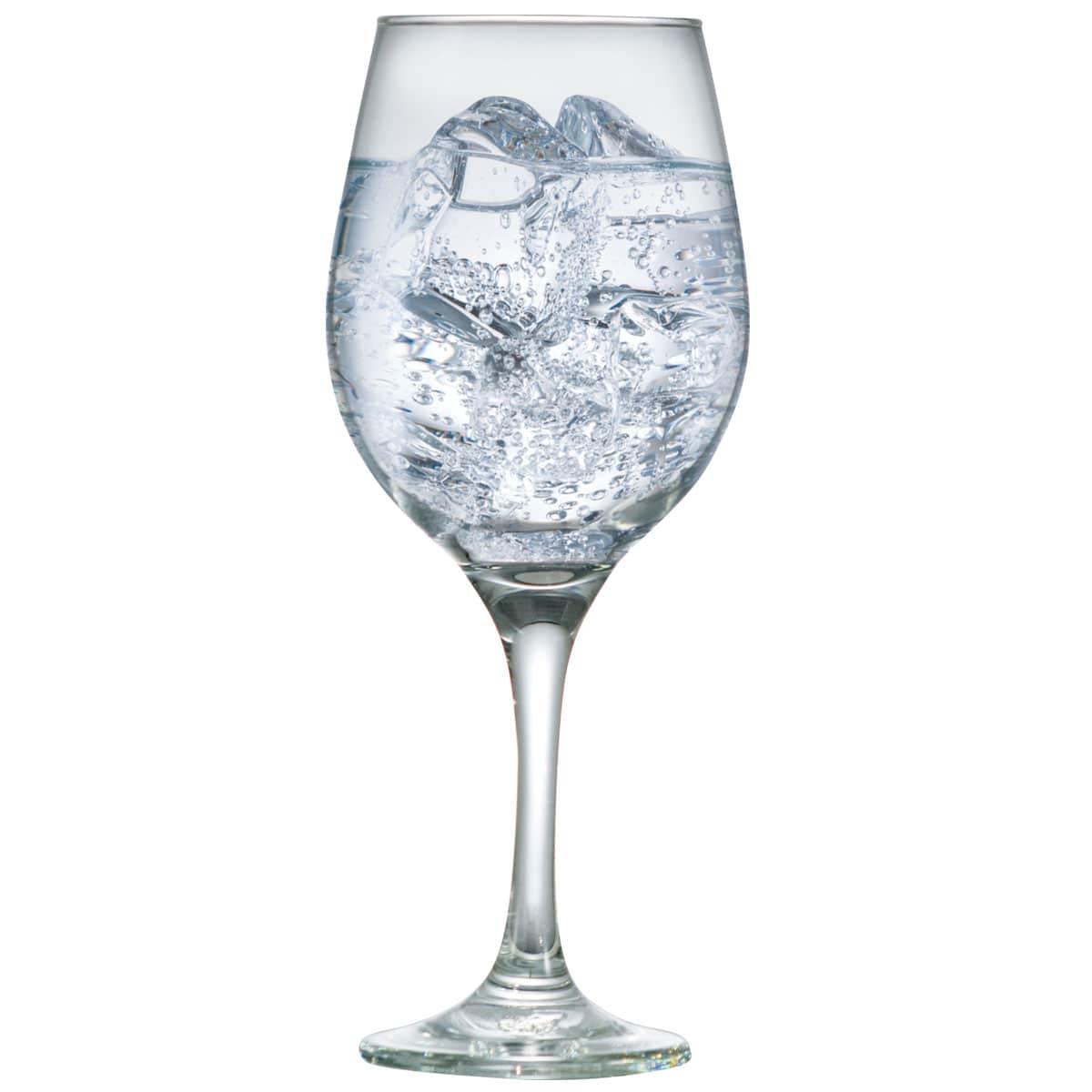 Taça de Água ou Vinho de Vidro 490ml