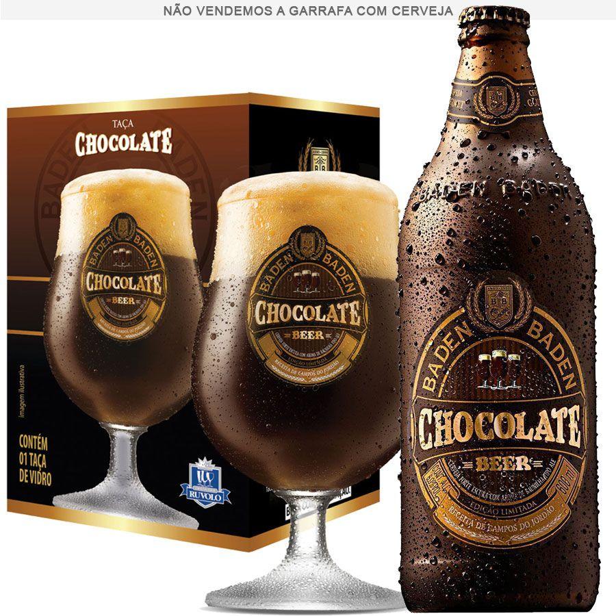 Taça de Cerveja Cristal Baden Baden Chocolate 400ml