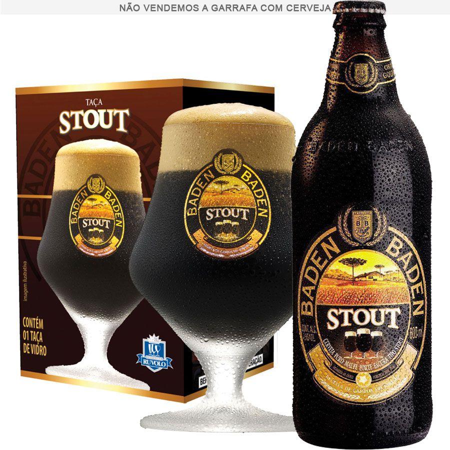 Taça de Cerveja Cristal Baden Baden Stout 430ml