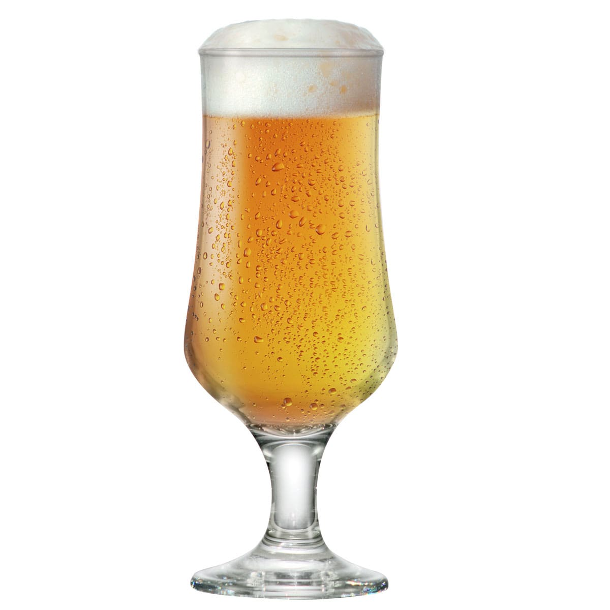 Taça de Cerveja vidro Tulipa Barcelona G 370ml