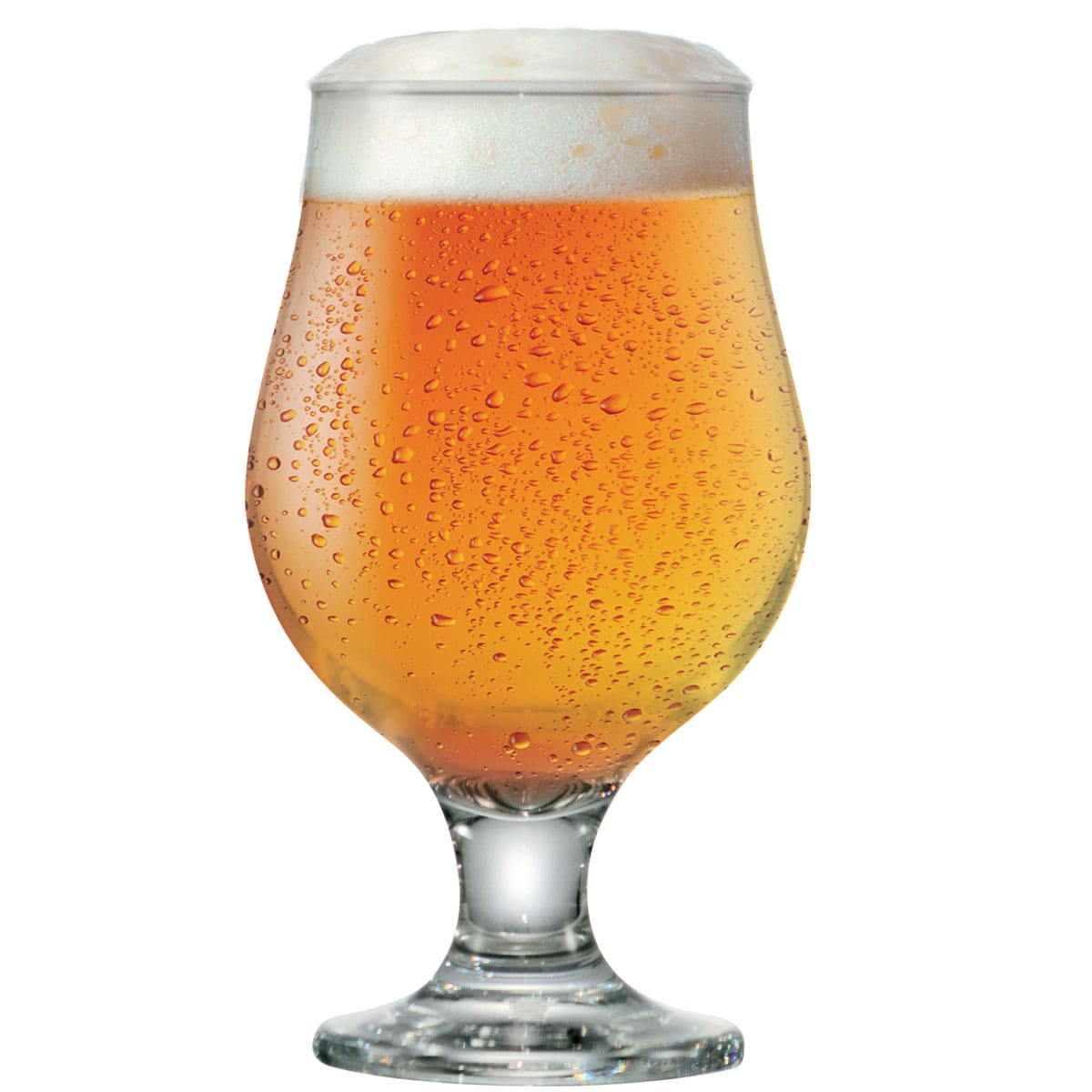 Taça de Cerveja Vidro Tulipa Beer Master 380ml
