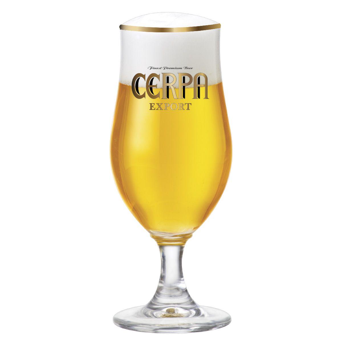 Taça de Cerveja Cristal Cerpa Export 385ml