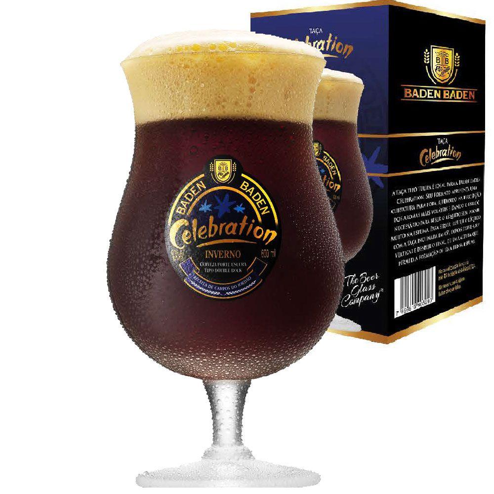 Taça de Cerveja Cristal Baden Baden Celebration