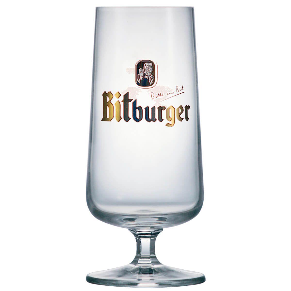 Taça de Cerveja  Cristal Snifter Bitburger 380ml