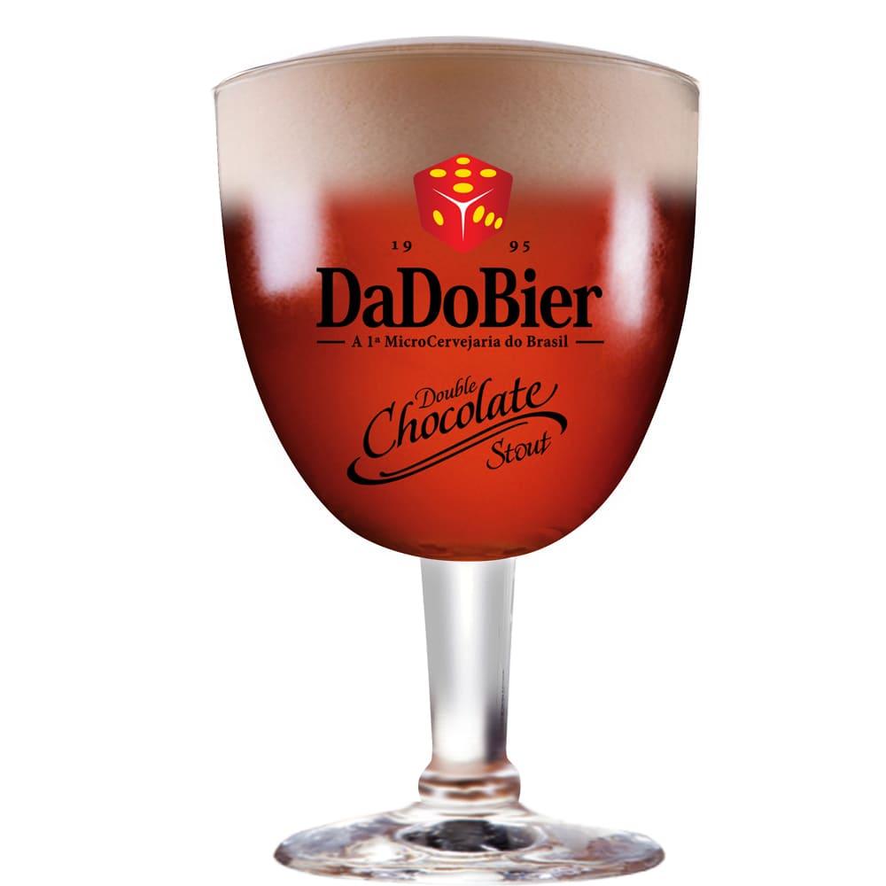 Taça de Cerveja Cristal Dado Bier Chocolate Stout de 390ml