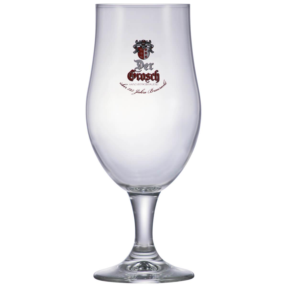 Taça de Cerveja Vidro Der Grosch 400ml Coleção Cervejas do Mundo
