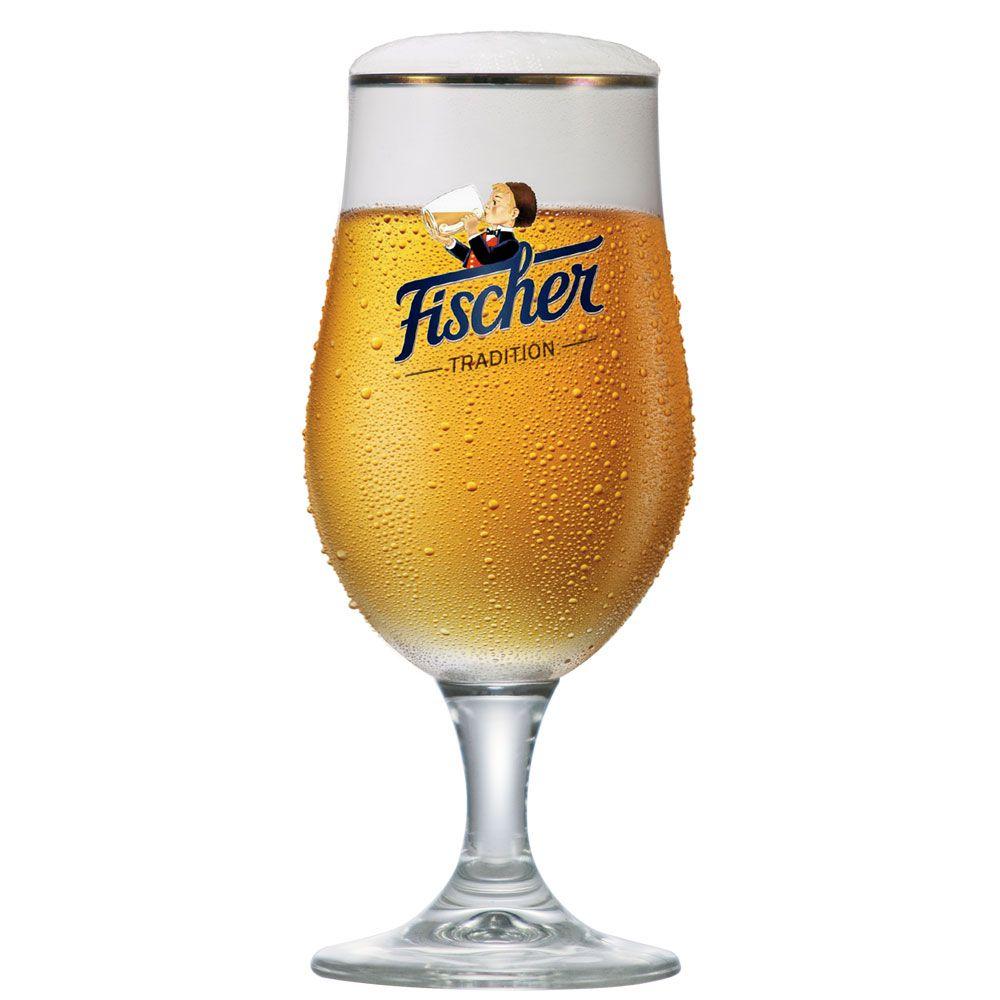 Taça de Cerveja Cristal Fischer 325ml